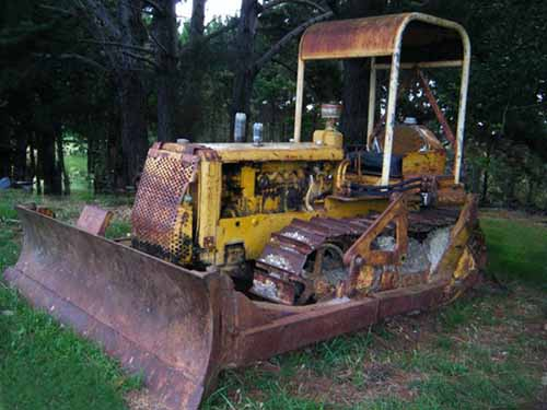Caterpillar D4-7U series bulldozers for sale in NZ & FREE