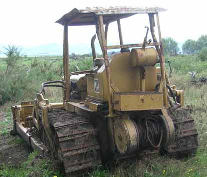 Caterpillar D4-7U series bulldozers for sale in NZ & FREE
